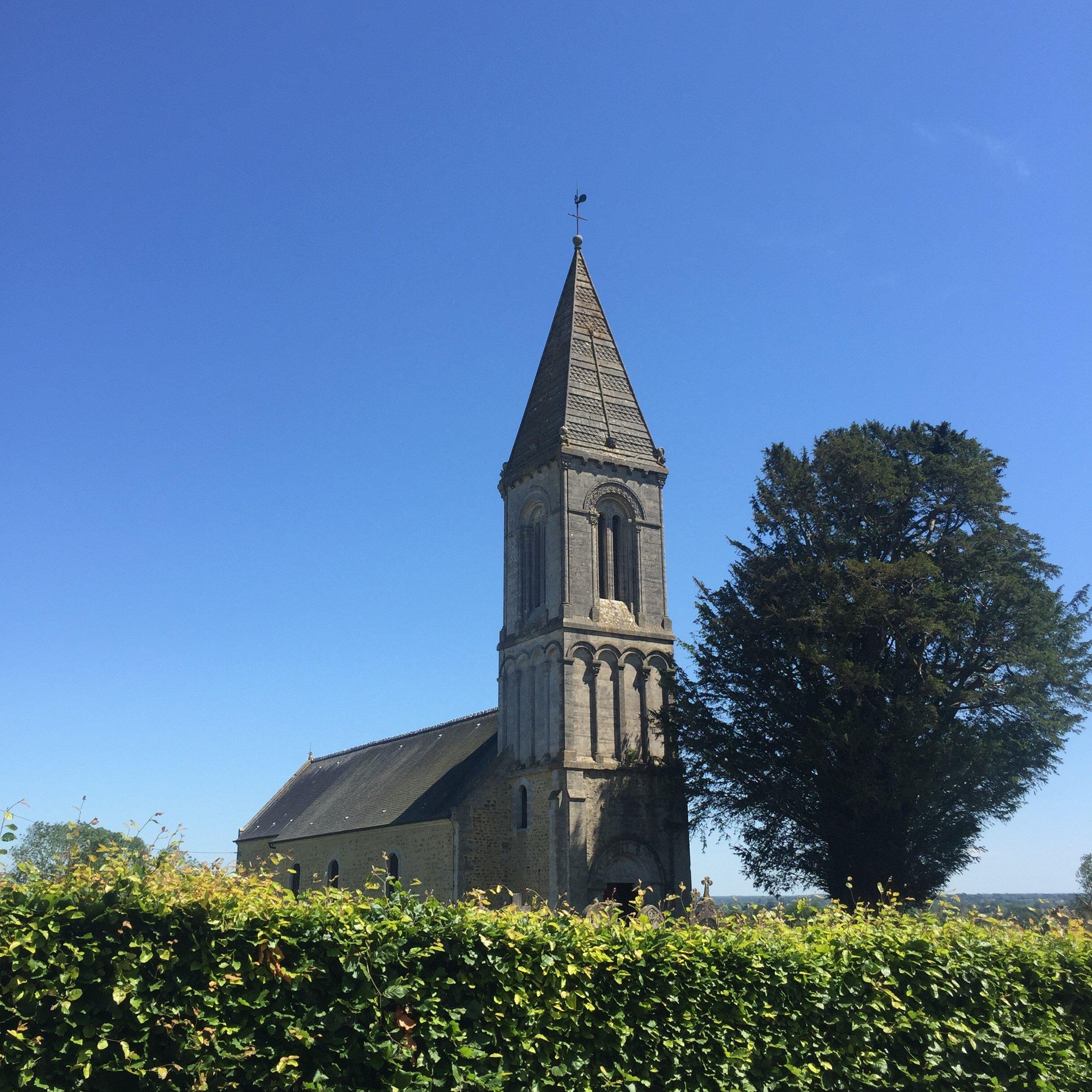 Intèrieur de l'église Saint Marcouf