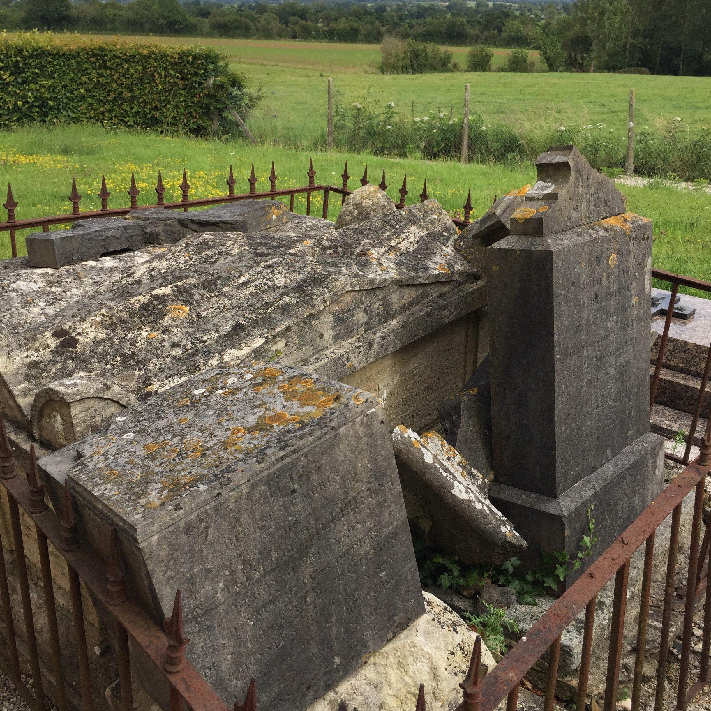 Le tombeau du Chevalier - Saint Marcouf