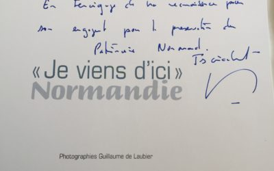 Soutien du Président de la Région Normandie