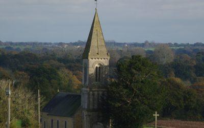 Avis défavorable du commissaire enquêteur au projet éolien derrière l'église de Saint Marcouf