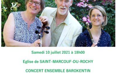 Concert baroque à Saint Marcouf